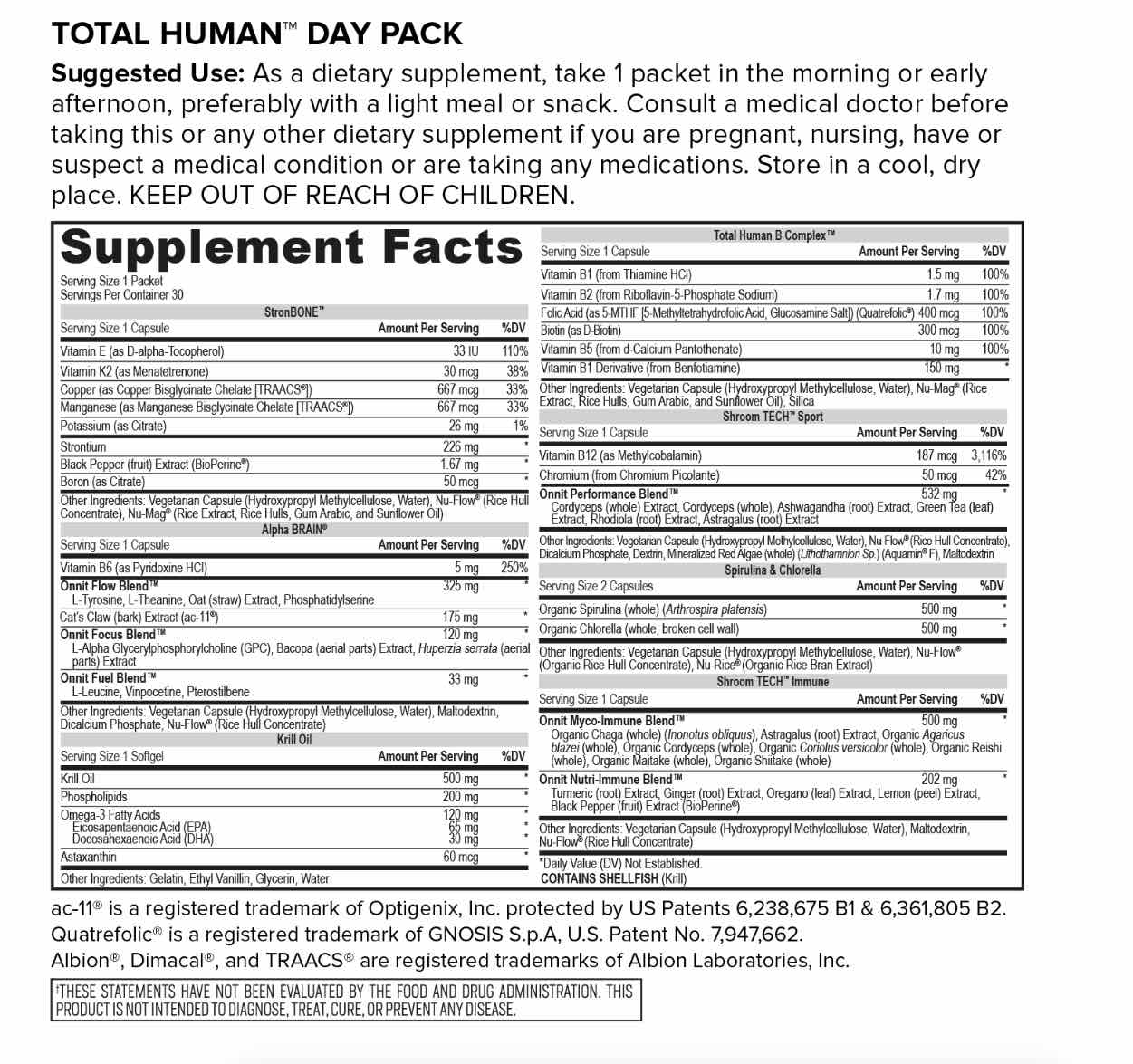 Total Human Day Pack