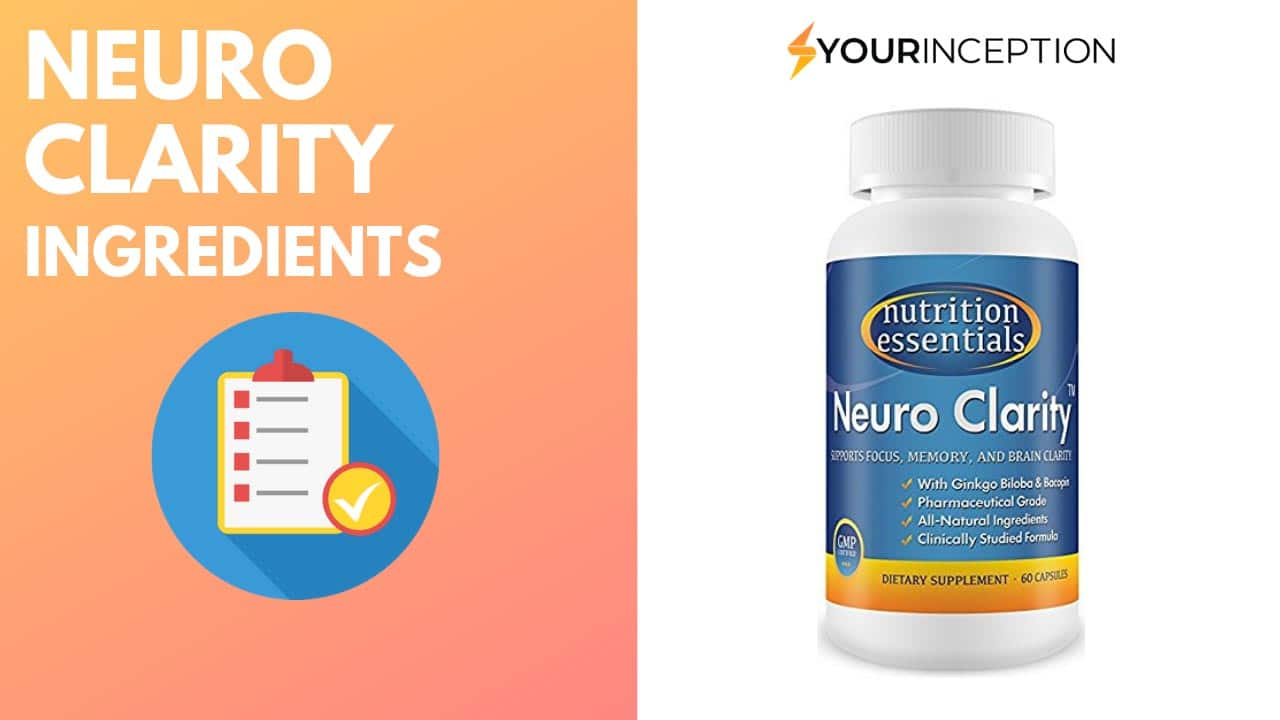 neuro clarity ingredients