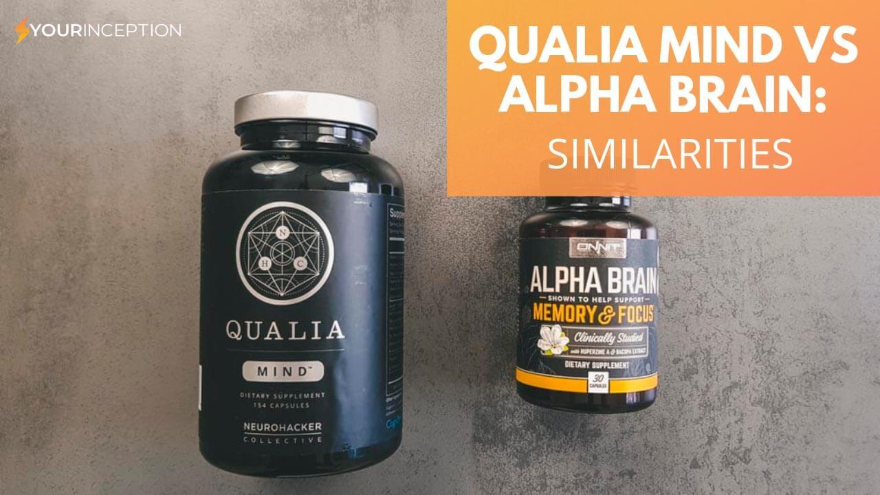 qualia mind vs alpha brain