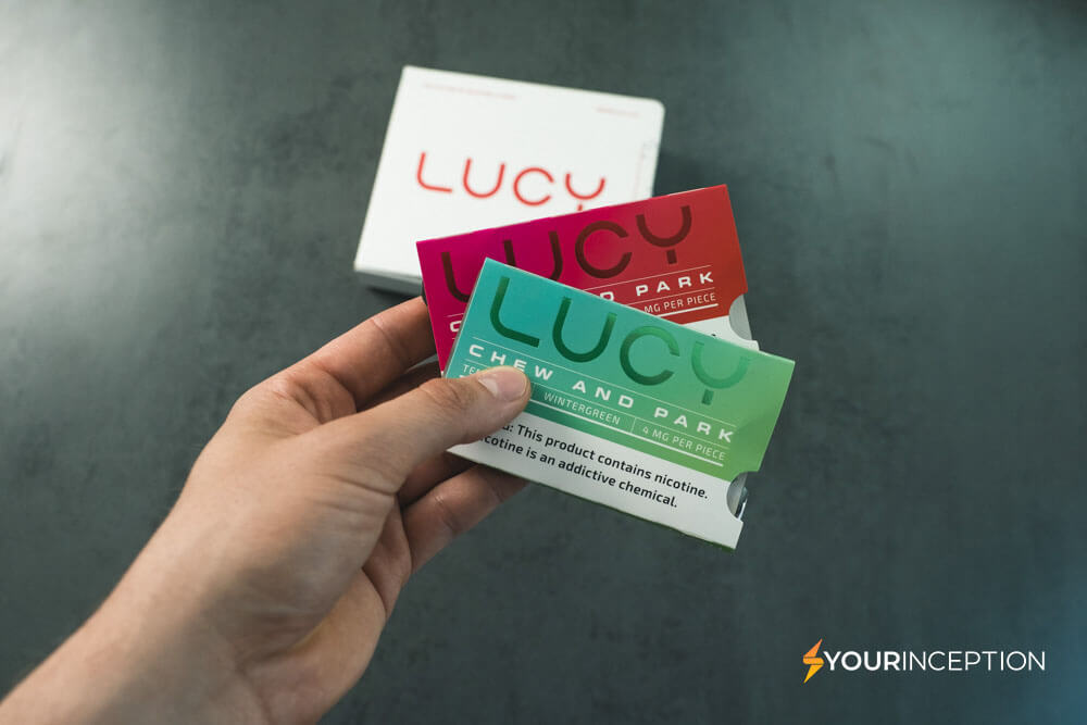 Lucy nicotine gum