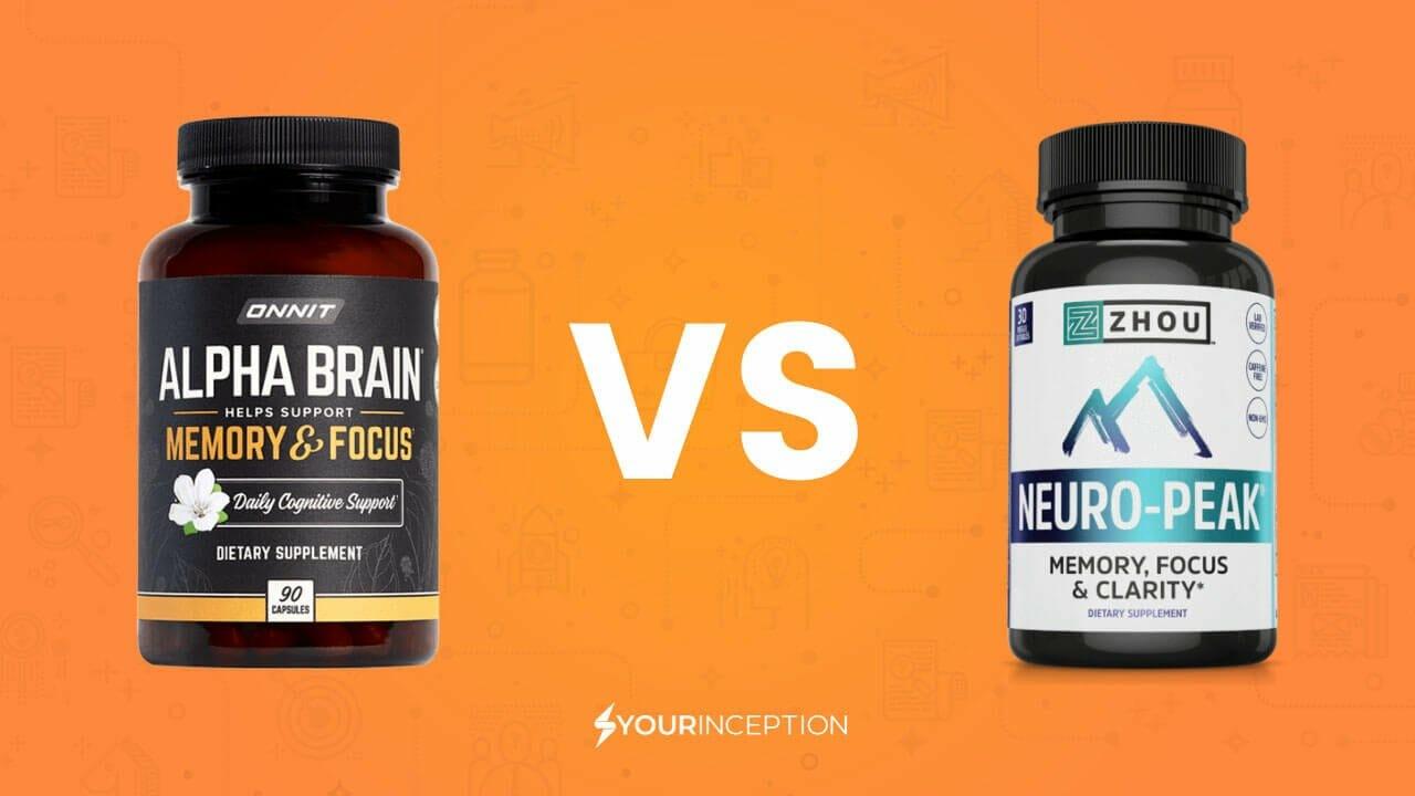 neuro-peak vs alpha brain
